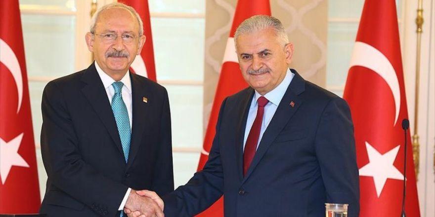 Başbakan Yıldırım, Chp Lideri Kılıçdaroğlu İle Görüşecek