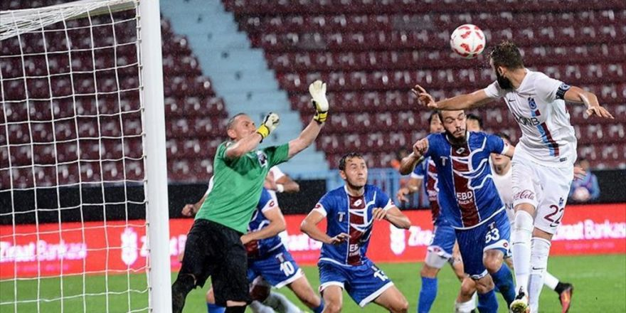 Trabzonspor'a Kupa Morali