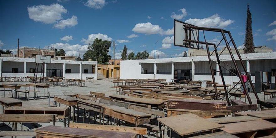 Cerablus'un En Eski Okulu Öğrenciler İçin Hazırlanıyor