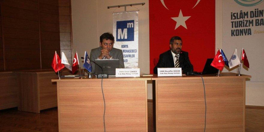 Konya SMMMO'dan yapılandırma semineri