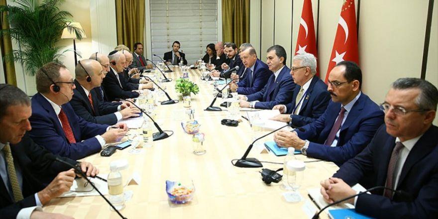 Erdoğan, Bazı Yahudi Kuruluşlarının Temsilcilerini Kabul Etti