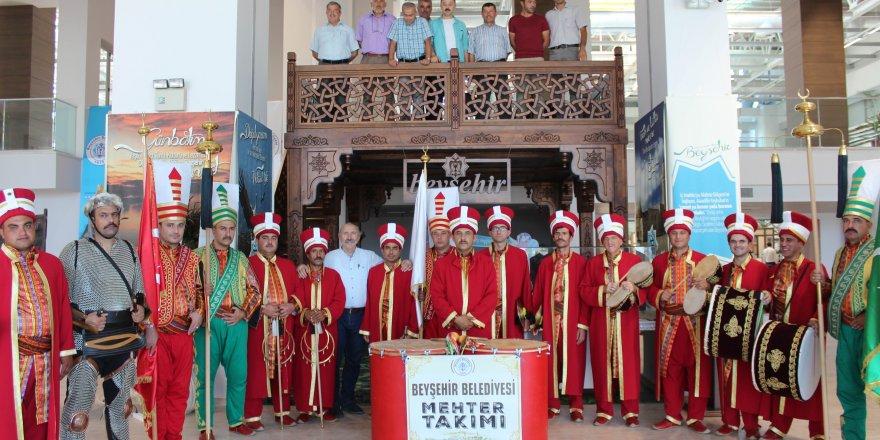 Beyşehir Belediyesi Mehteran Takımı konser vermeye başladı