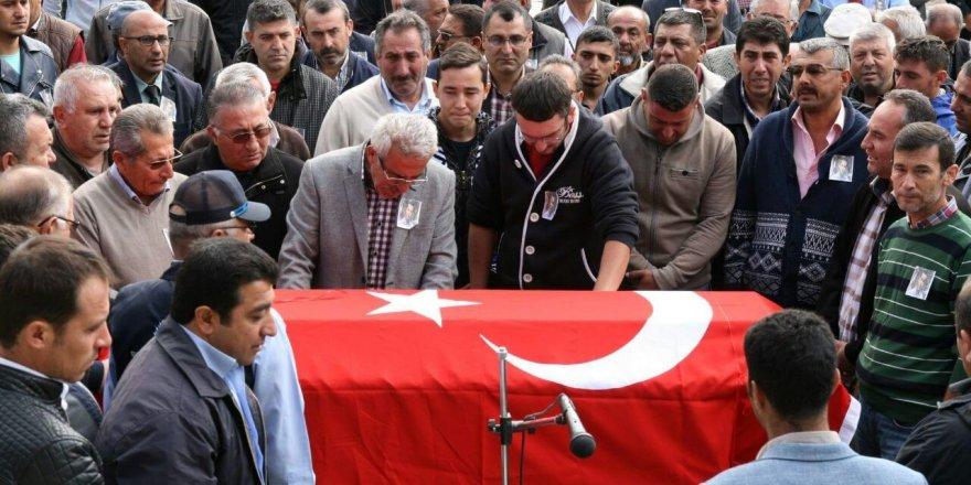 Hayatını kaybeden belediye personeli için tören düzenlendi
