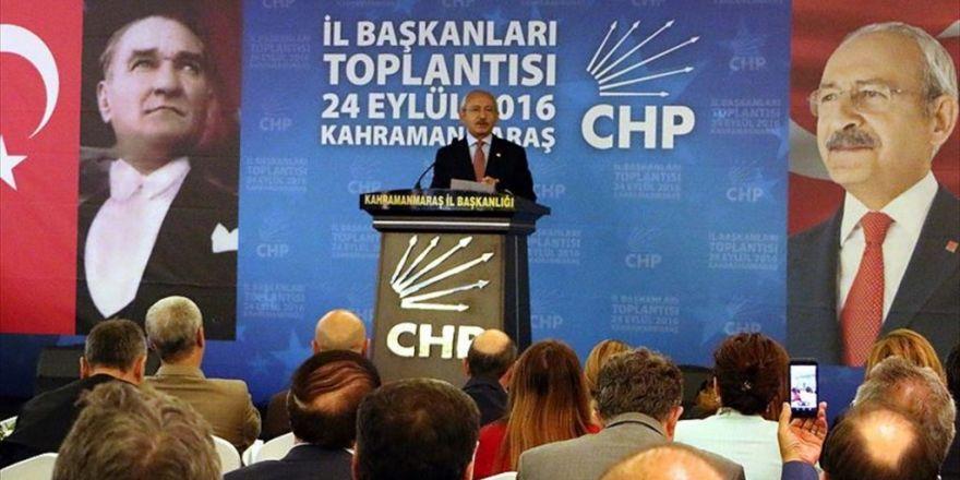 Chp Genel Başkanı Kılıçdaroğlu: Geçmişte Siyasileri İdam Ettiğimiz İçin Pişmanız