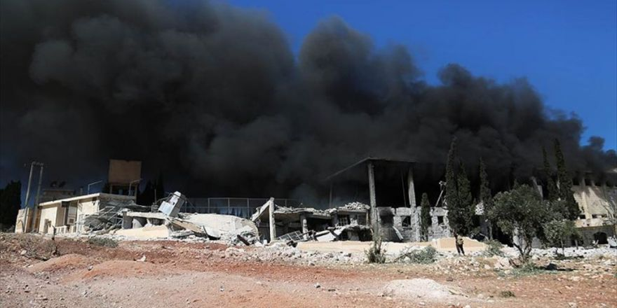 Halep'teki Saldırılarda Ölen Sivil Sayısı 92'ye Yükseldi