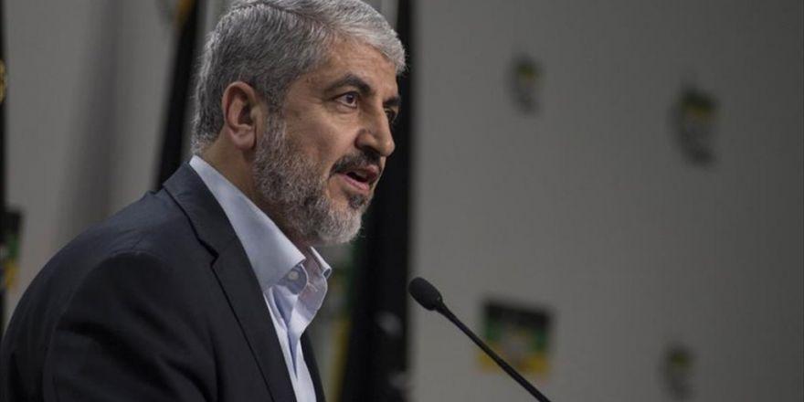 'Halid Meşal'in Eski Başkan Olmasında Bir Sakınca Yok'