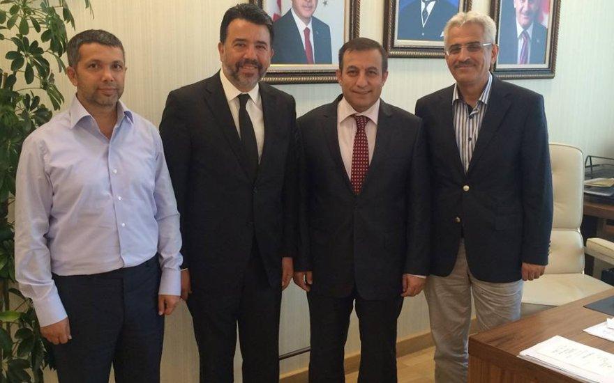 Oktay Mermer'den Tuzcuoğlu'na ziyaret