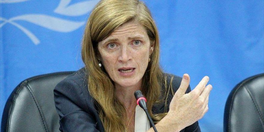 Abd'nin Bm Daimi Temsilcisi Power: Rusya'nın Suriye'de Yaptığı Terörle Savaş Değil Barbarlık