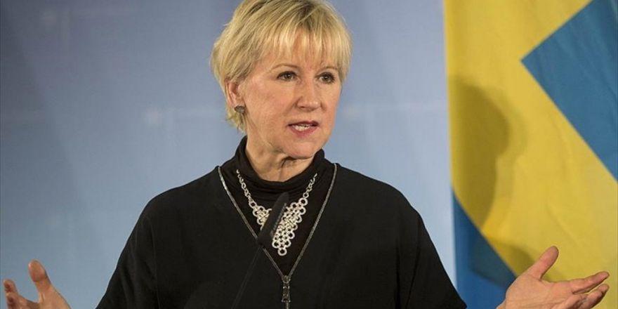 İsveç'ten 'Halep'te Saldırıları Durdurma' Çağrısı