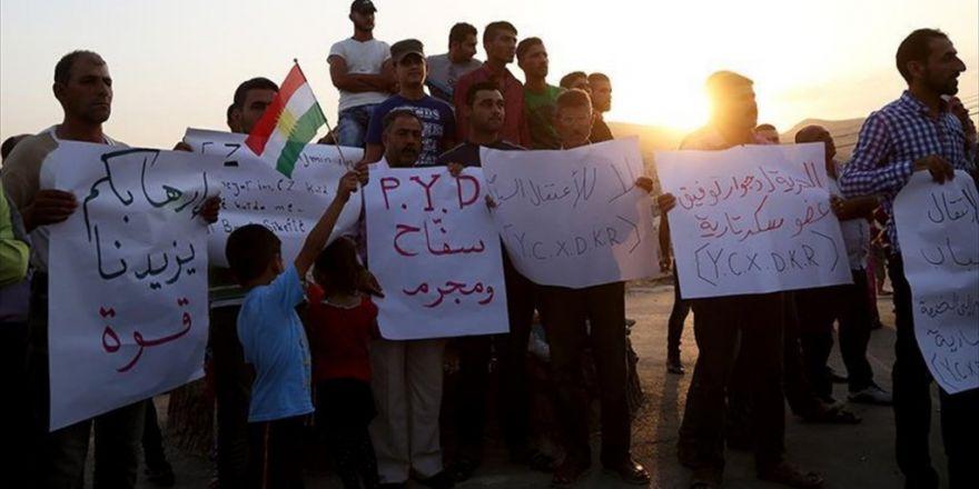 Pyd Suriye Kürt Ulusal Konseyi Ofislerinden 9 Kişiyi Alıkoydu