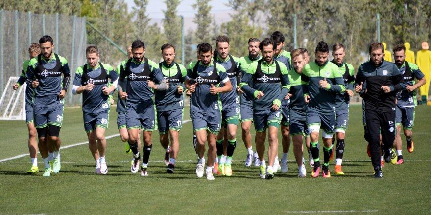 Konyaspor'da UEFA Avrupa Ligi mesaisi başladı