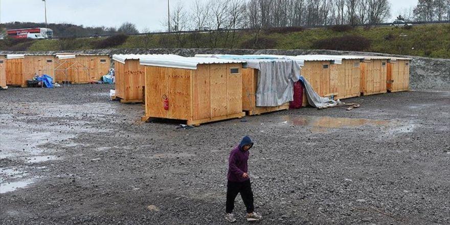 Fransa Moselle'deki Sığınmacı Kampını Dağıtıyor