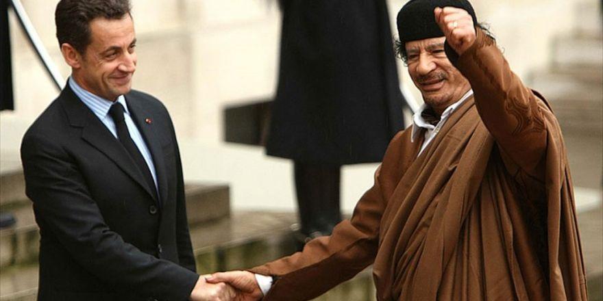 Kaddafi'den Sarkozy'ye Destek İddiası