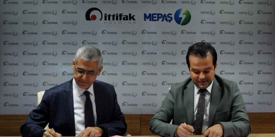 MEPAŞ ve İttifak Holding  elektrik satış protokolü yenilendi