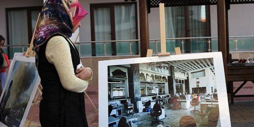 Konya'da '15 Temmuz Şehitleri Anma Sergisi' Açıldı