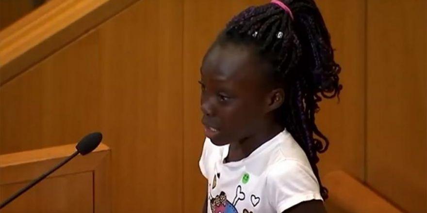 Abd'de 9 Yaşındaki Çocuktan 'Irkçılık Dersi'