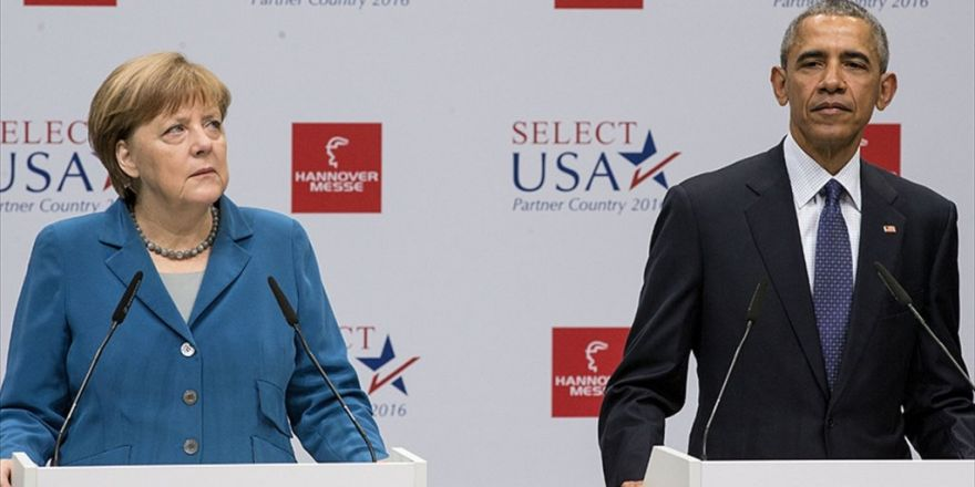Obama Ve Merkel Rusya İle Esed Rejimini Kınadı