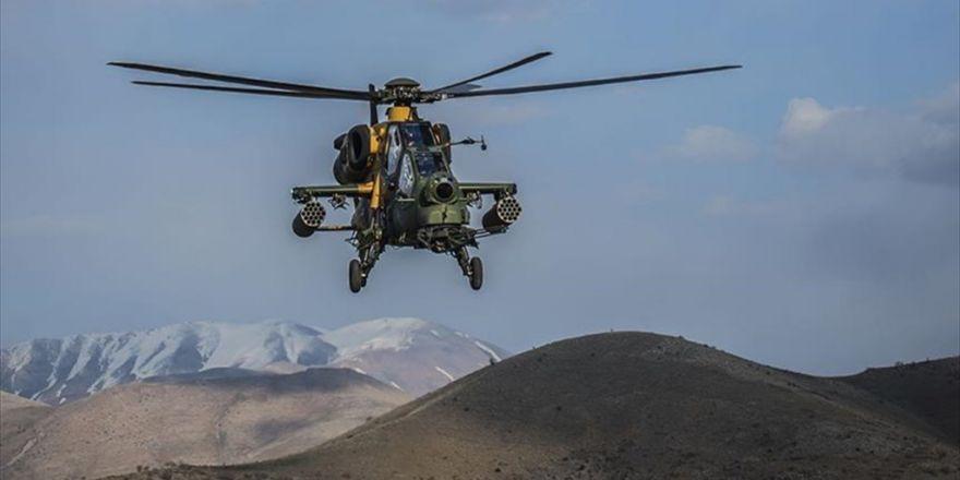 Bomba Yüklü Aracı Atak Helikopteri İmha Etti