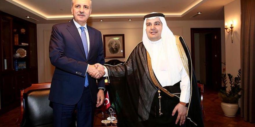 Başbakan Yardımcısı Kurtulmuş: Suudi Arabistan'la İlişkilerin Gelişmesi Barışa Katkıda Bulunacak