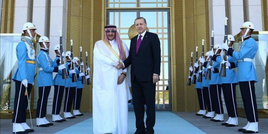 Suudi Arabistan Veliaht Prensi Bin Nayif Türkiye'de