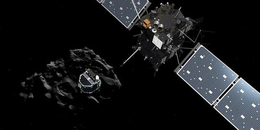 Rosetta 12 Yıllık Görevini Tamamladı