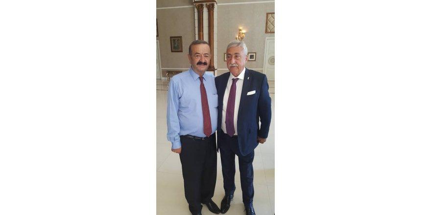 Başkan Yılmaz, Genel Başkan ile birlikte