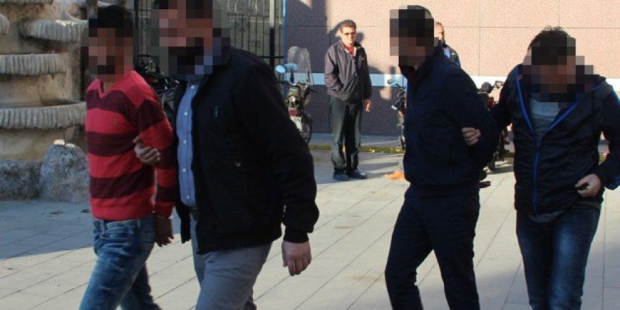 Konya'da uyuşturucu operasyonu: 4 tutuklu