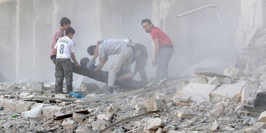 Halep'te Sahra Hastanesine Saldırı