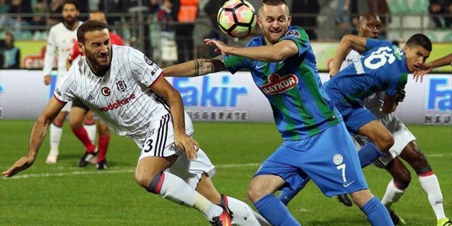 Beşiktaş Rize'den Lider Dönüyor