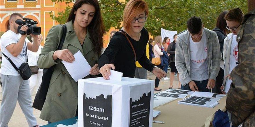 Mostarlılardan Bosna Hersek Seçimlerine 'Sembolik' Katılım