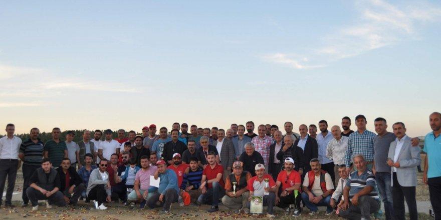Tek kurşun ve trap atışları turnuvası Seydişehir'de yapıldı
