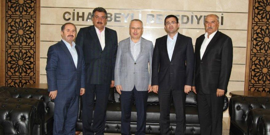 Bakan Yardımcısı Mehmet Ceylan'dan, Başkan Kale'ye ziyaret