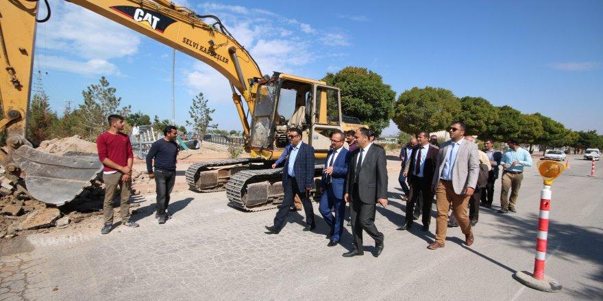 Beyşehir'e 7 milyon liralık cadde yatırımı