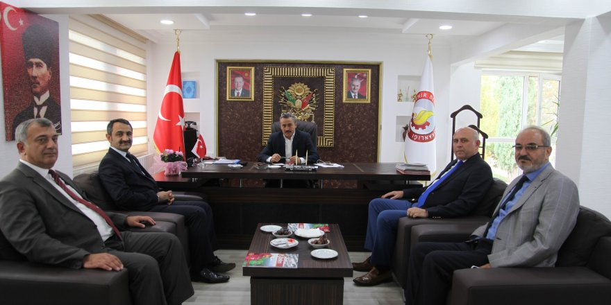 BYEGM Konya İl Müdürü Paslı'dan Başkan Tutal'a ziyaret