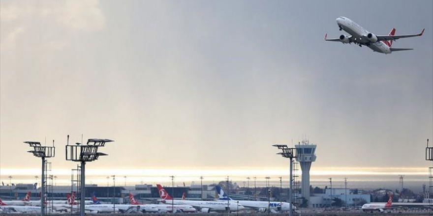 Havayoluyla Taşınan Yolcu Sayısı Eylülde 17,2 Milyon Oldu