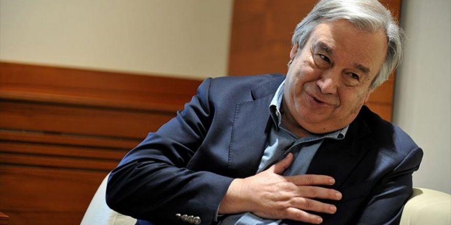 Guterres İsmi Bmgk'yı Birleştirdi