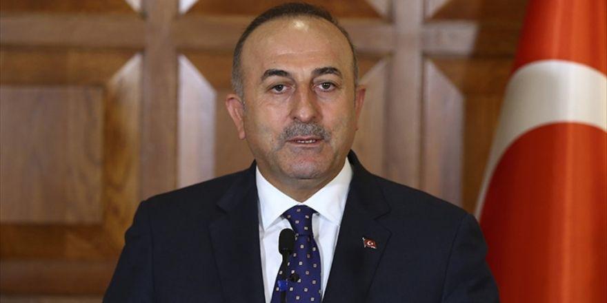 Çavuşoğlu, Guterres İle Telefonda Görüştü