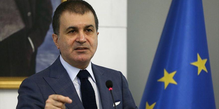 Ab Bakanı Çelik: Terör Örgütleri İle Mücadele Ab'nin Sırtını Döneceği Konular Değil
