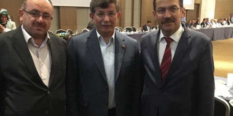 Başkan Hadimioğlu Davutoğlu ile hasret giderdi