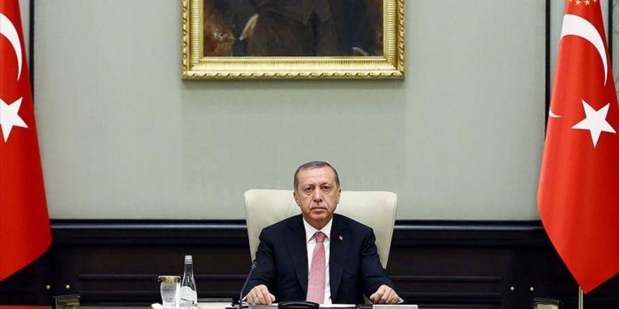 Cumhurbaşkanı Erdoğan Başkanlığında Beylerbeyi Sarayı'nda Güvenlik Toplantısı