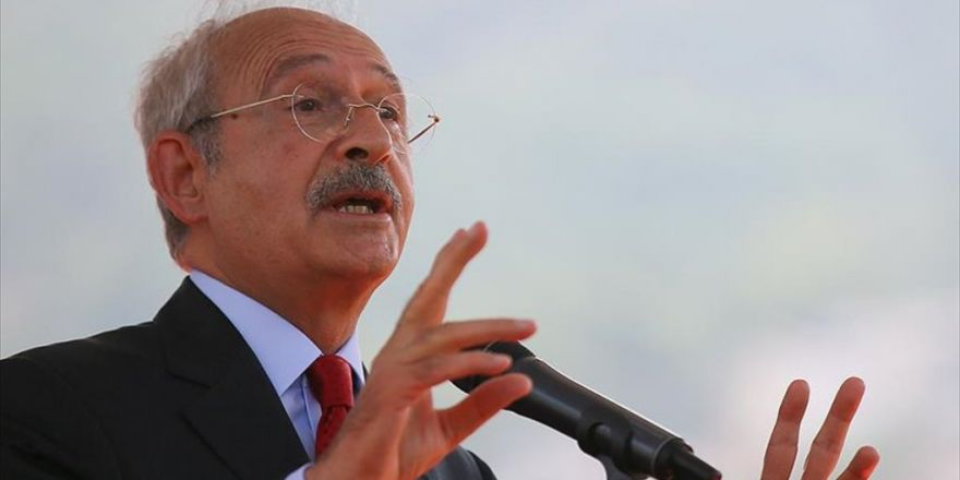 Chp Genel Başkanı Kılıçdaroğlu: Barışa, Birbirimizi Sevmeye İhtiyaç Duyuyoruz