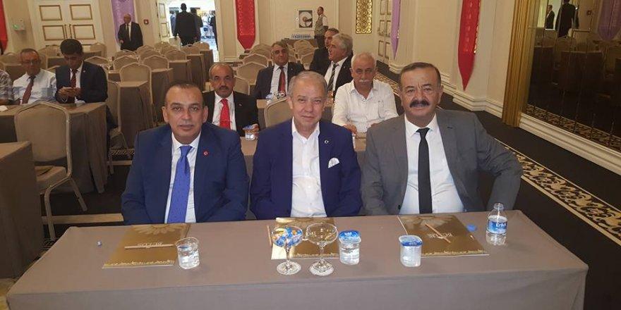 Başkan Karamercan ve ekibi Antalya'da