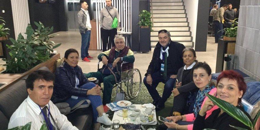 Ahmet Gürsel Oğuz ve arkadaşları Saraybosna'da