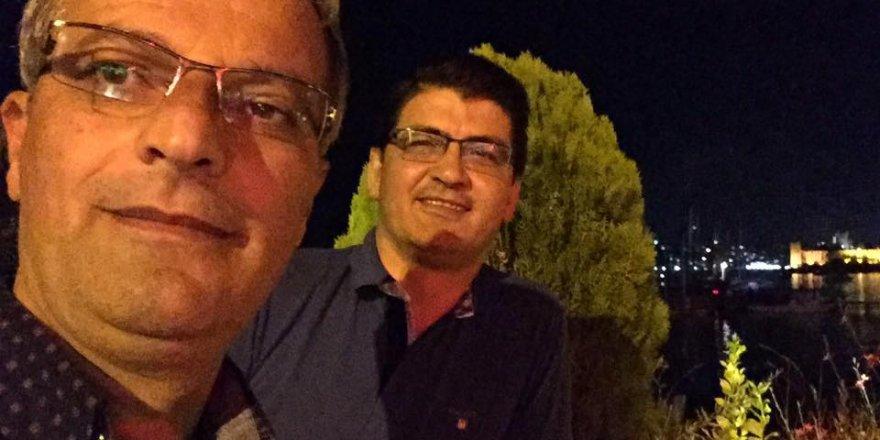 İsmail Özkan Bodrum Kalesi'nde mutlu
