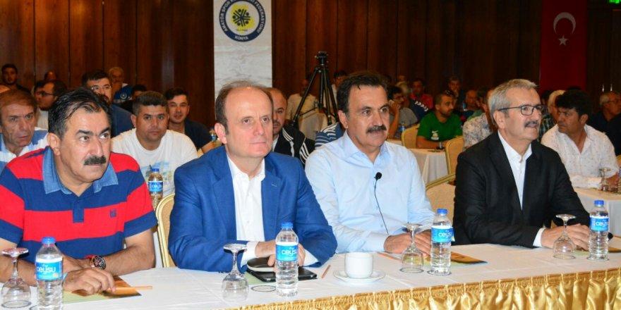 Spor basını Antalya'da Genel Müdür Baykan'la