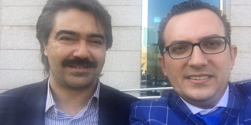 Veli Tolu ve Mustafa İbalı'dan genel merkez selfiesi