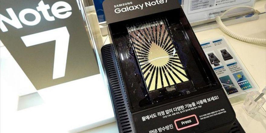 Samsung'dan Galaxy Note 7 Sahiplerine Uyarı