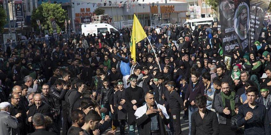 Iğdır'da Aşure Günü İçin Binlerce Vatandaş Yürüyor