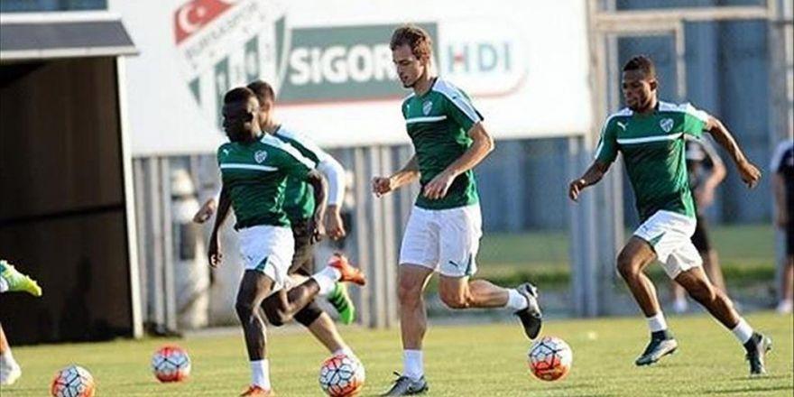 Bursaspor Osmanlıspor Maçına Hazırlanıyor