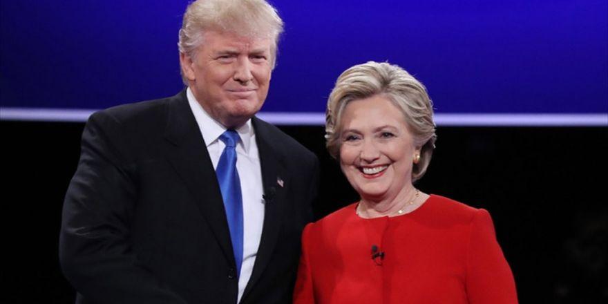 Clinton, Trump'ın 9 Puan Önünde